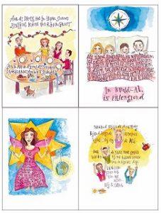 spreukkaarten die je cadeau krijgt bij een abonnement